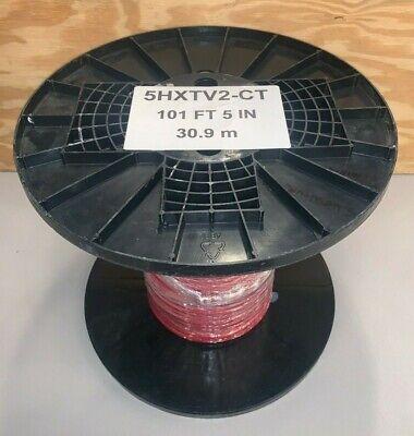101 Ft 30.9m Raychem 5hxtv2-ct Self-regulating Heating Cable 277v Free Ship