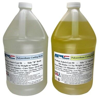 FabriCast 50 Ultra-Low Viscosity Urethane Casting Resin 2 Gallons