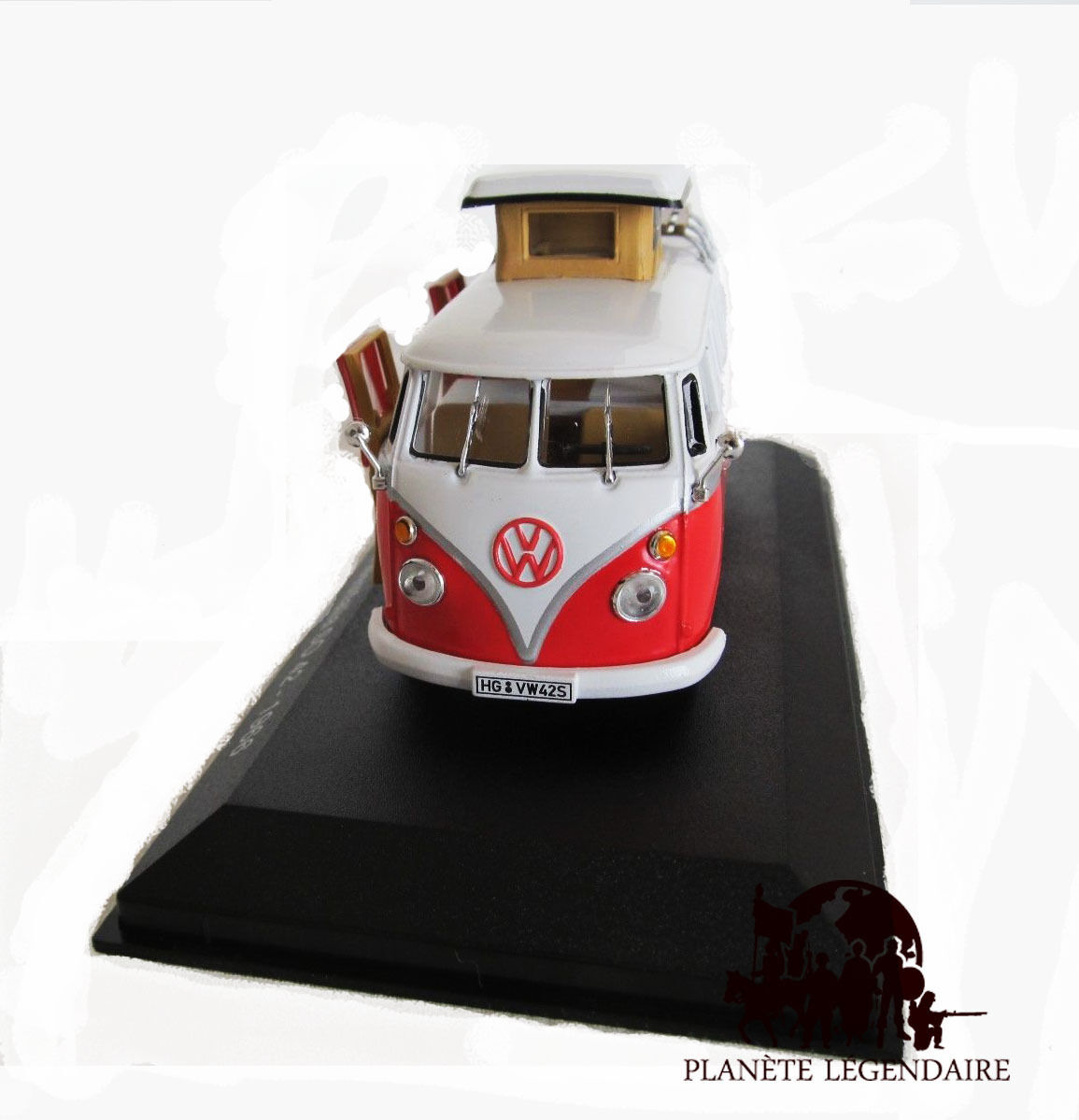 miniature ixo camping car volkswagen kombi westfalia so 42 vw 1966 neuf eur 24 99 picclick fr. Black Bedroom Furniture Sets. Home Design Ideas