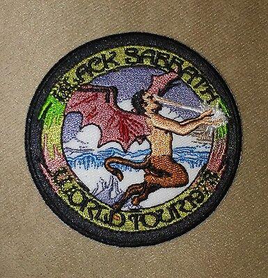 "3"" BLACK SABBATH World Tour 1978 Iron-on PATCH-For Hat/Shirt/Jacket Ozzy!"