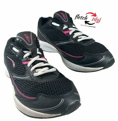 LA Gear Walk n Tone Women's Shoes Black Pink Size 10 Camp RV Fun Friends