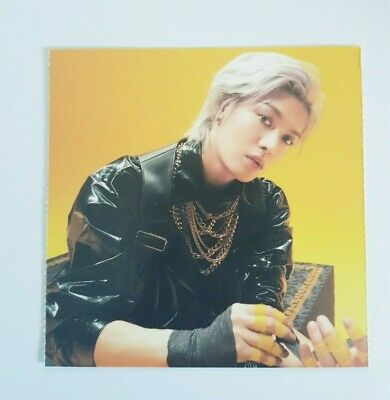 "NCT 127 YUTA Limited Photocard - Official New 2nd Album ""NCT #127 Neo Zone"""
