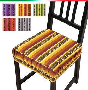 Cuscino arredo coprisedia cucina copri sedie sfoderabili for Sedie arredo casa