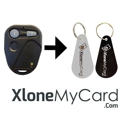 Copy / Clone RFID Kantech ioProx Garage Remote Fob P82WLS/P72WLS