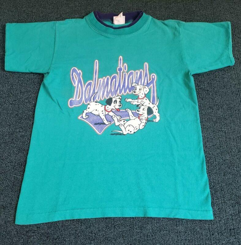 Vintage 90s Dalmatians Kids Large T Shirt