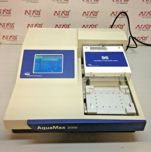 Analytical Technologies AquaMax 2000 Microplate Washer 96 Wash Head