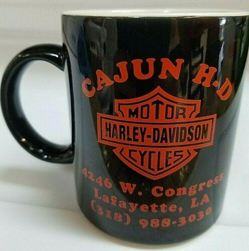 VINTAGE 1997 HARLEY DAVIDSON MUG CAJUN H D LAFAYETTE, LA