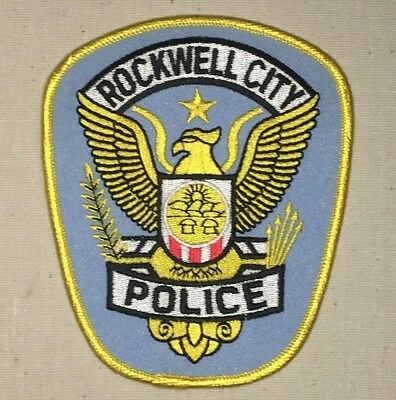 Rockwell City Police Dept Shoulder Patch - Iowa