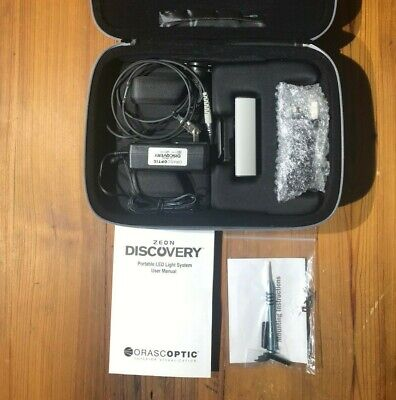 Orascoptic Zeon Discovery Led Headlight -dental Surgical Loupes W Case