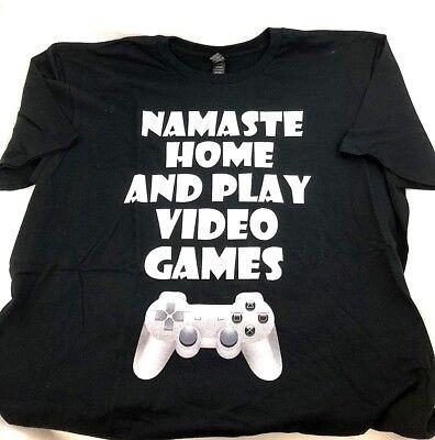 Novelty Video Game Men's T-Shirt 100% Cotton Short Sleeve Lightweight By Anvil  (Novelty Game)