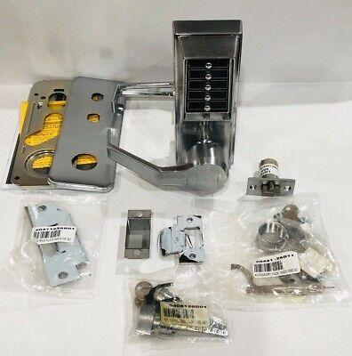 Kaba Ll1031-26d-41 Push Button Entry Lock Satin Chrome Finish