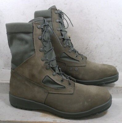NEW Belleville Mens 600 Sage USAF Combat Tactical MADE IN USA Boots size 16 M