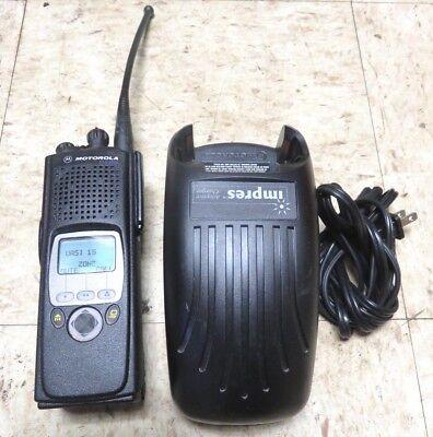 Motorola Xts5000 700800 Mhz 2 Way Radio Wcharger H18ucf9pw6an. Excellent