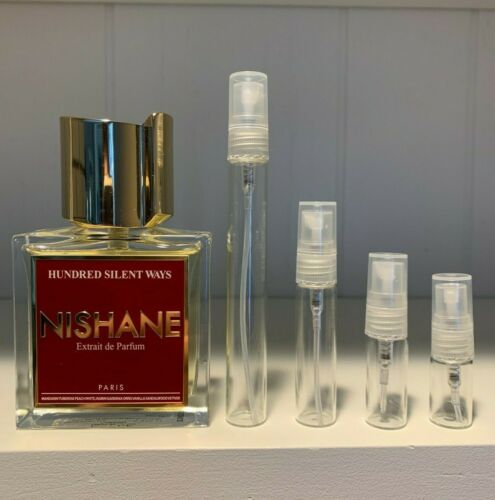 Nishane- Hundred Silent Ways EDP Sample Size (2mL, 3mL,  5mL or 10mL)