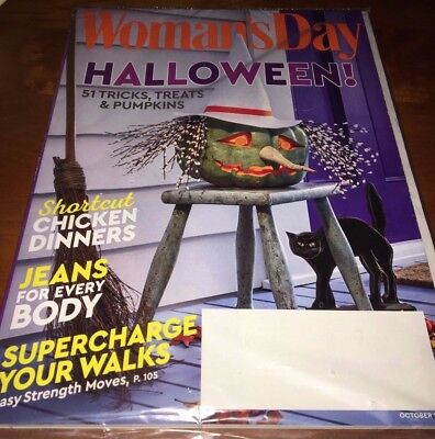 NEW October 2017 issue of Woman's Day Magazine  Halloween #281 - Woman's Day Halloween 2017