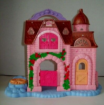 Fisher Price Princess Precious Places Pony Stable 2009 Imaginext Dollhouse Gift
