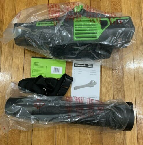 GREENWORKS PRO 80V BRUSHLESS CORDLESS AXIAL BLOWER 170 MPH/730 CFM TOOL NEW