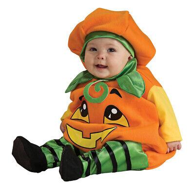 Rubies 2885840 - Pumpkin Jumper, Kostüm, Kürbis Baby Overall  Gr. 80/86 1-2 J (Baby Kostüme Kürbis)