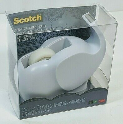 Scotch Desktop Elephant Tape Dispenser With Tape 3m Weighted
