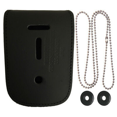 Undercover Neck Chain Id Badge Holder - Police - Law Enforcement - Security