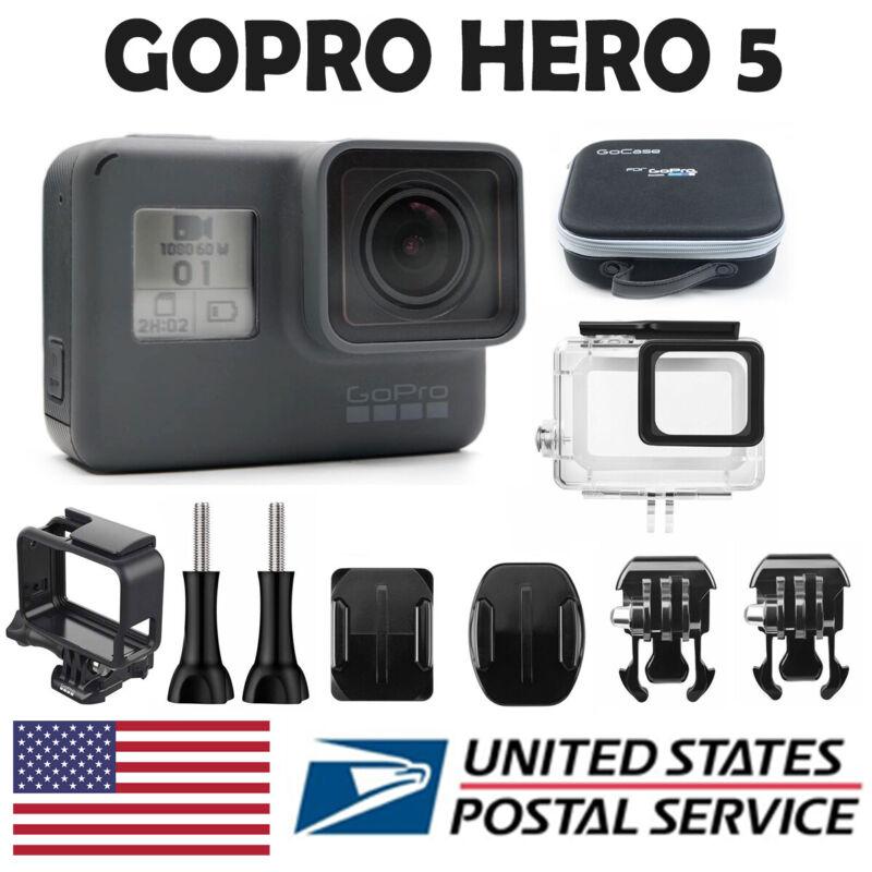 GoPro Hero 5 Black Edition 4K Action Camera + GoPro Bag US Fast shipping