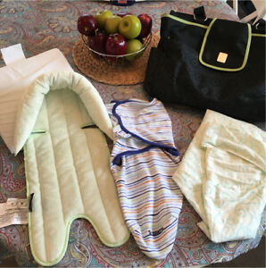 Baby Diaper Bag with accessories