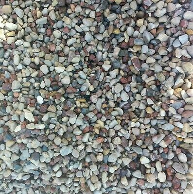 Natural Beauty  60 lbs Aquarium Fish Tank Gravel 1/8-1/4  In Pebble color rocks