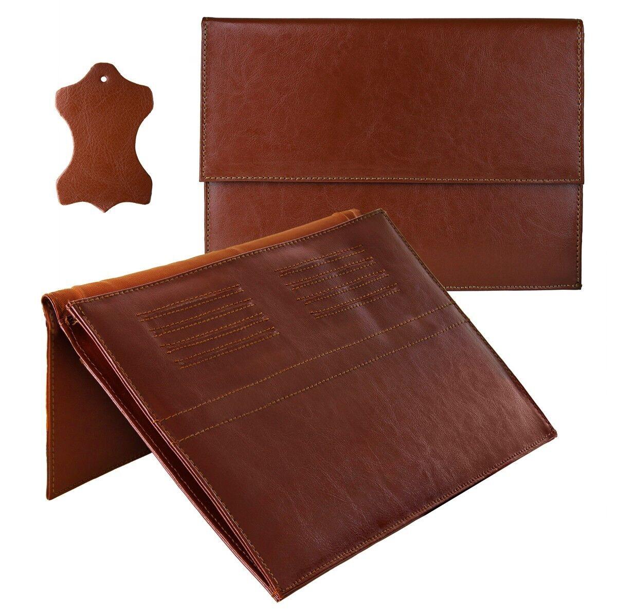 eFabrik Sleeve für Huawei MateBook Schutz Hülle Zubehör Cover Tasche Leder Braun