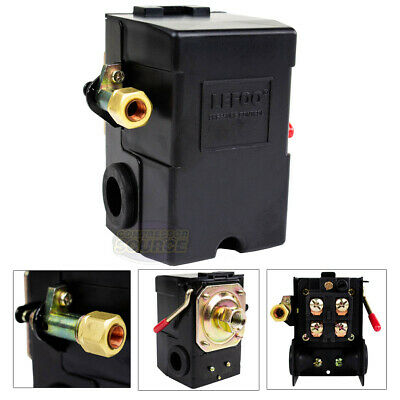 Heavy Duty 26 Amp Air Compressor Pressure Switch Control Valve 95-125 Psi 1 Port