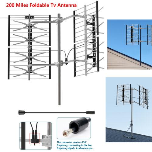 1byone HDTV 1080P TV Antenna Amplified Digital TV Antenna 20