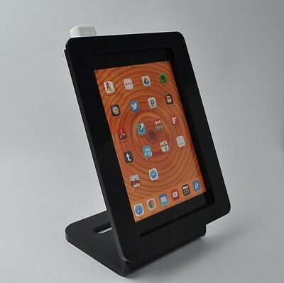 iPad mini Negro Desktop Stand Fits PayPal, Amazon, Quadrangle, PayAnywhere, ID Tech