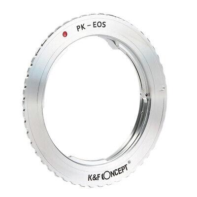 K&F Concept Pk-Eos Adaptador Pentax Pk Objetivo Para Canon EOS Cámara .130