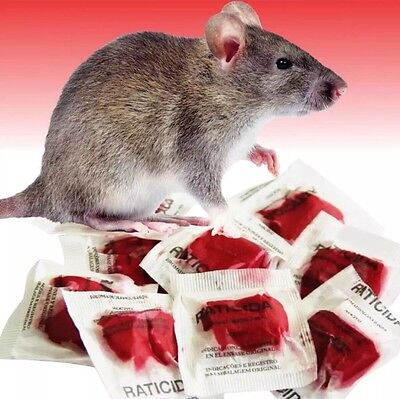 This Stuff Really Works Mouse   Rat Poison 10 Professional Grade Packets 100Gram