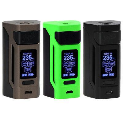WISMEC Reuleaux Akkuträger RX2 20700 Box Mod 200 Watt E-Zigarette Akku Dampfer