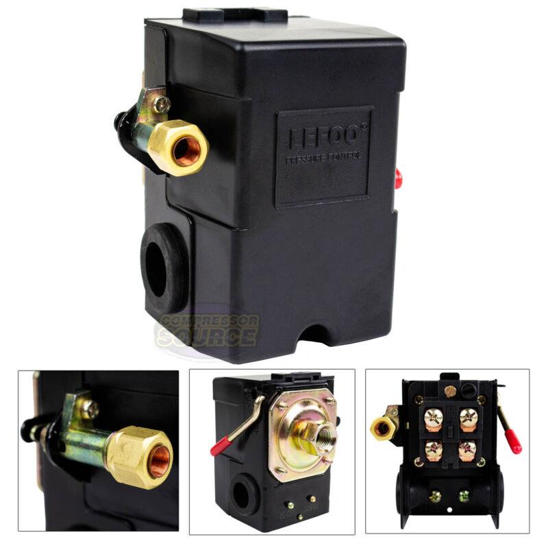 Heavy Duty 26 Amp Air Compressor Pressure Switch Control Valve 140-175 PSI