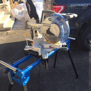 12 inch Mitre saw & stand