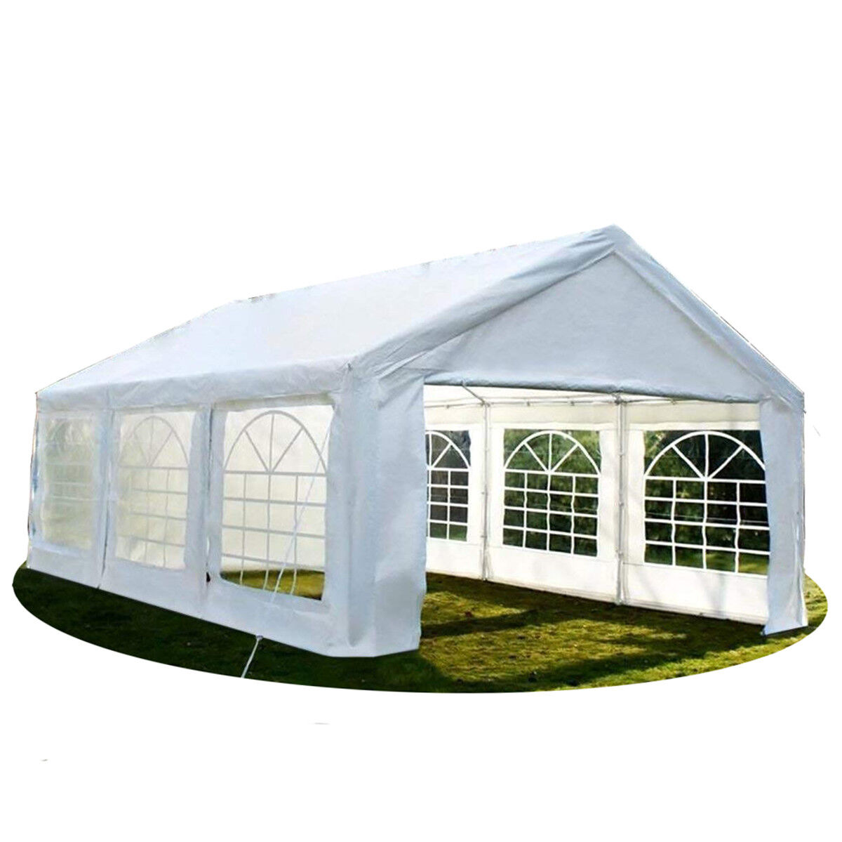 20'x20' Heavy Duty Party Tent Outdoor Carport Canopy Gazebo