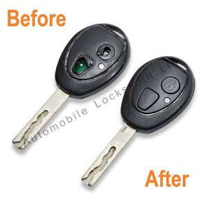 Rover-75-2-Button-Remote-key-fob-REPAIR-SERVICE-FIX