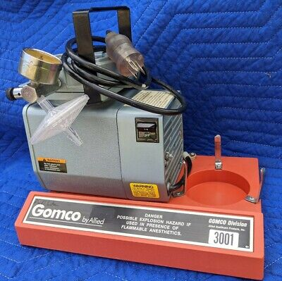 Allied Healthcare Gomco 300 Aspiratorvacuum Pump Table Top Suction Pump