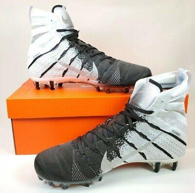 promo code 474f7 fc098 Nike Vapor Untouchable 3 Elite Football Cleats Black White AH7408-102 Size  10.5