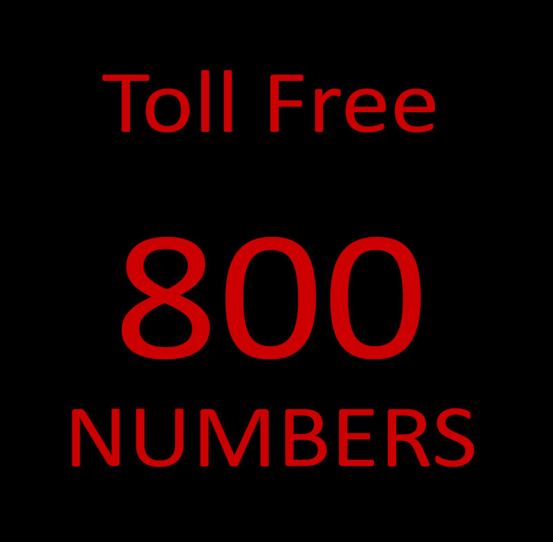 800 Toll Free Phone Numbers   The Real 800 Deal   800 Numbers