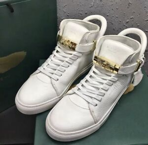 Buscemi shoes white/gold size 43 9 - 91/2