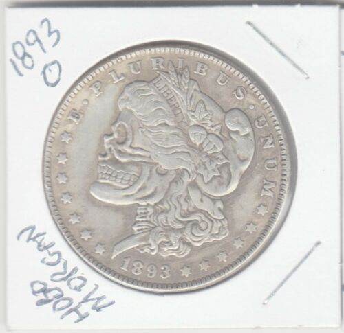 Large Hobo Coin with 1893 O Morgan Style Back *Novelty Coin* & WePayTheFreight!