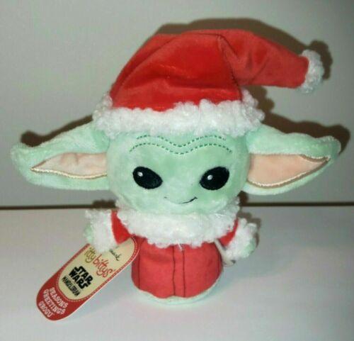 HALLMARK Itty Bittys Seasons Greetings Grogu STAR WARS Mandalorian Yoda Child