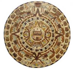 Wooden-Aztec-Calendar-Unique-Big-Mexican-Art-Wall-Decor