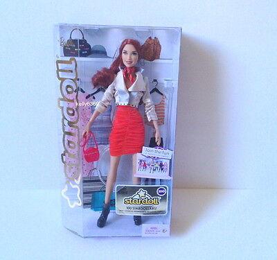Barbie Dolls   Stardoll   Bonjour Bizou Red Hair W2204 New