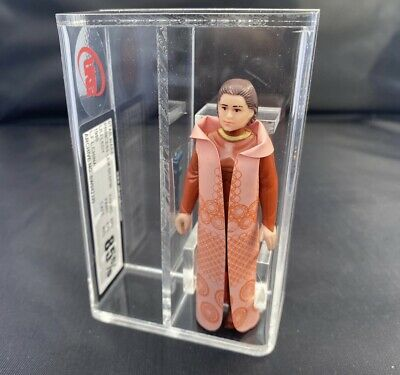Vintage Star Wars Lili Ledy Princess Leia Bespin Graded 85%  Ukg RARE