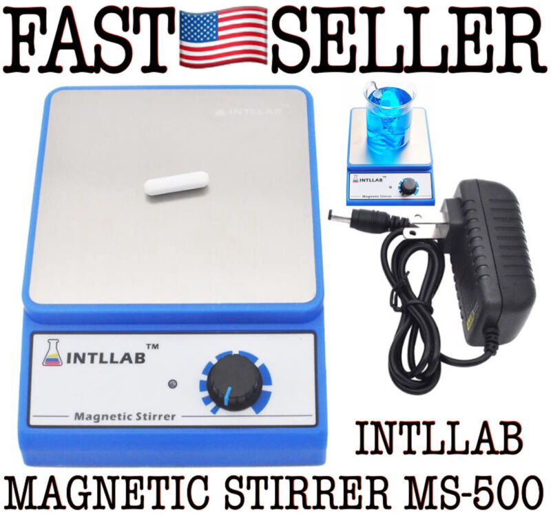 Magnetic Stirrer Stainless Steel Magnetic Mixer 3000ml W/ Stir Bar (No Heating)