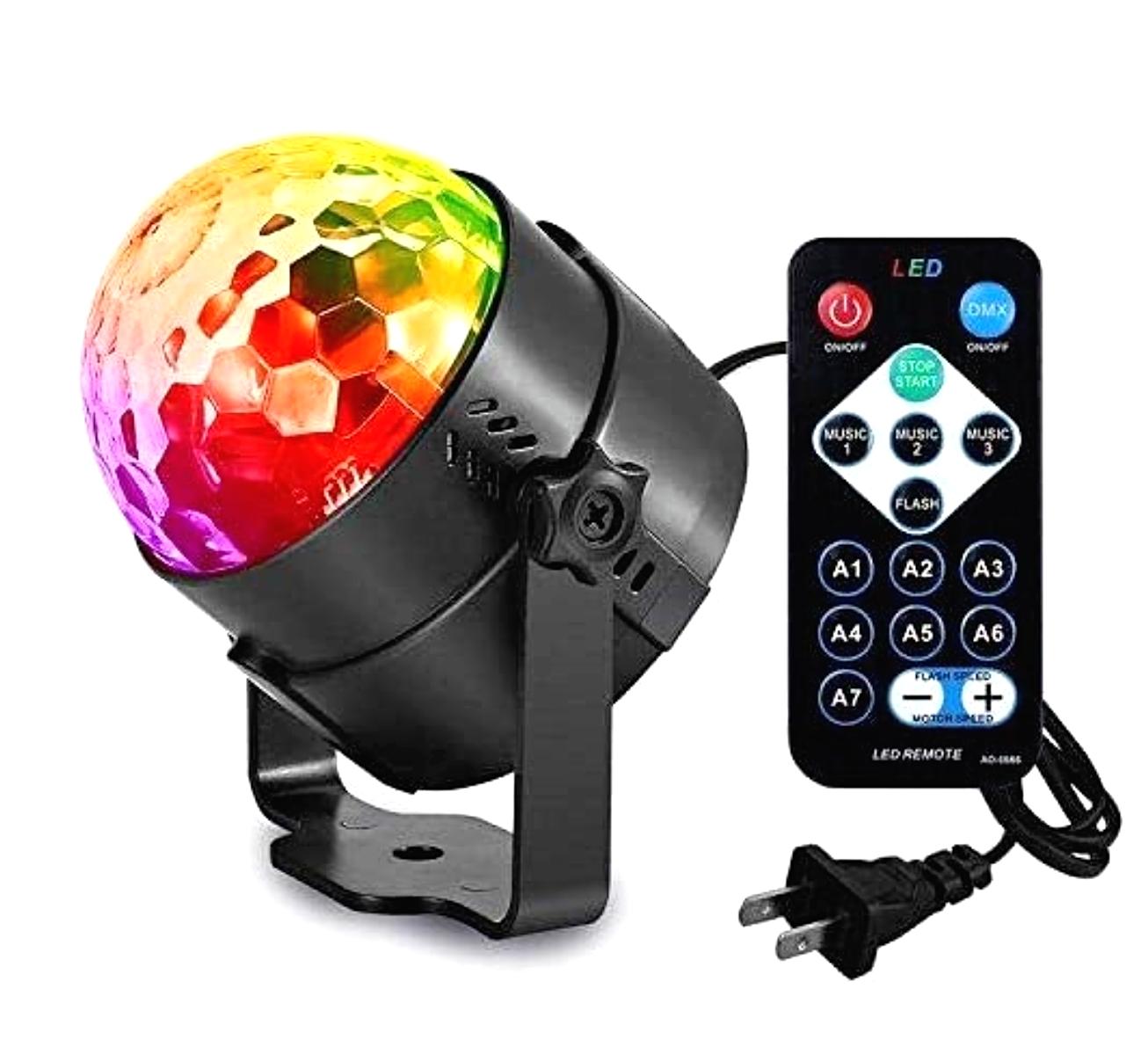 disco party lights strobe led dj ball