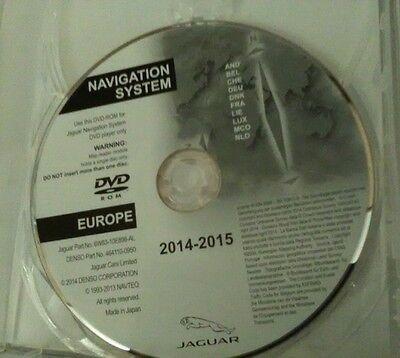 JAGUAR XF & XK SAT NAV 2014-2015 Europe sat nav disc ** BRAND NEW never used **